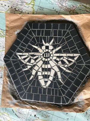manchester mosaic bee