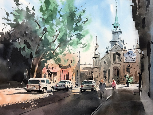 Urban Sketching Course: Part Three: A Complete Cityscape