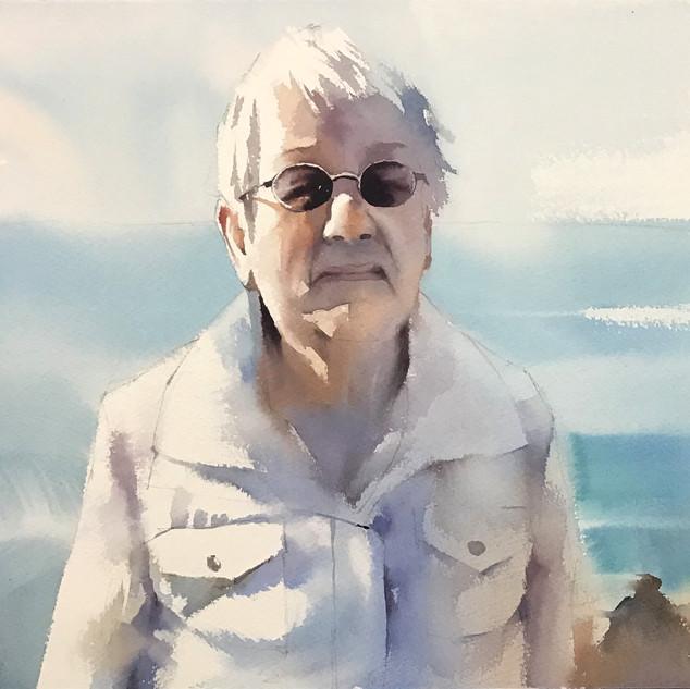 Soft Portrait in San Francisco Bay