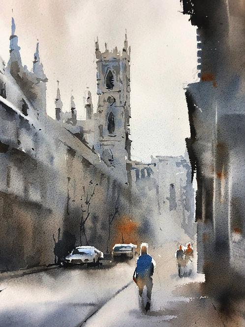 Urban Sketching Course: Grey Day