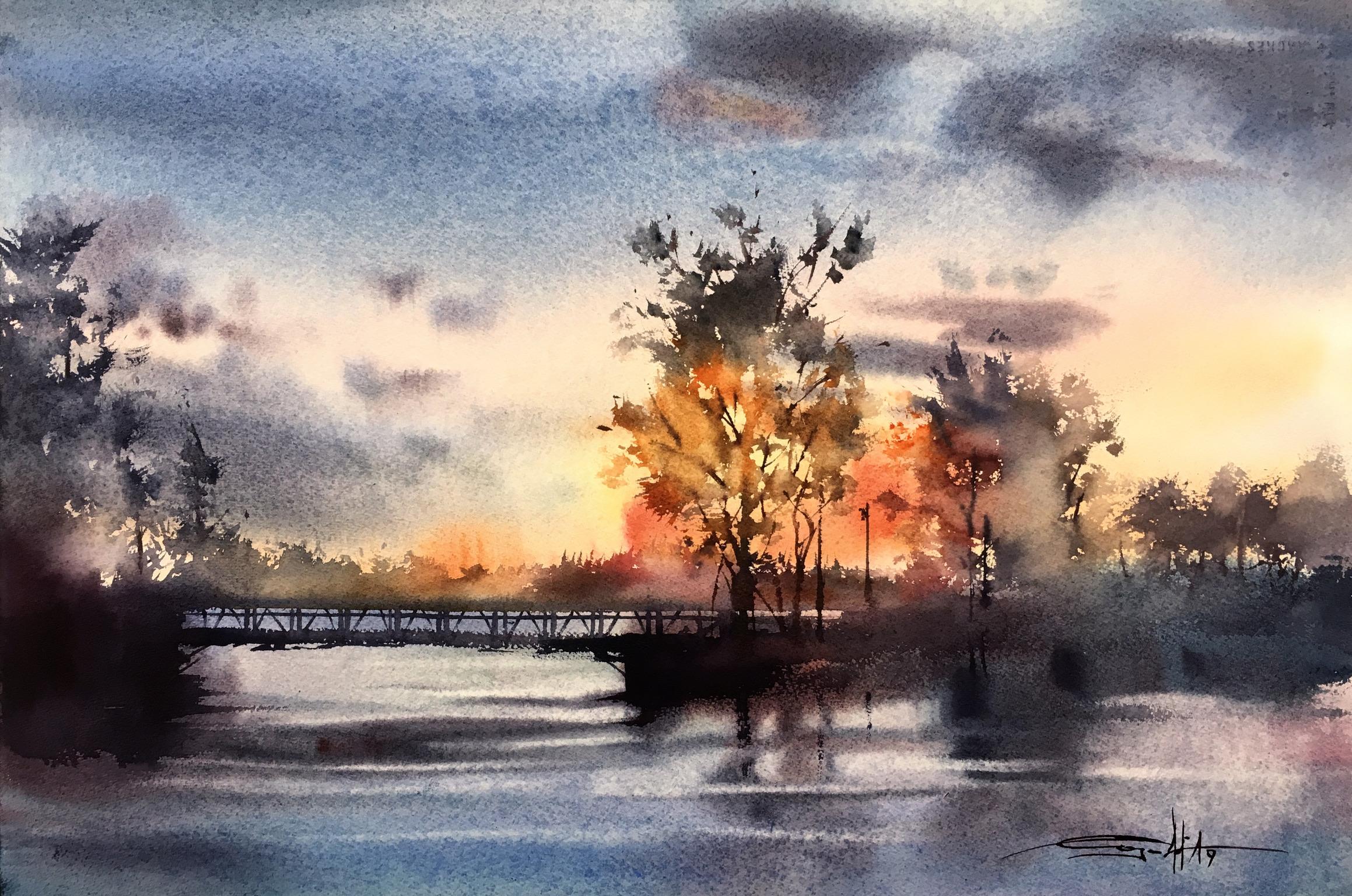 Lachine, Sunset