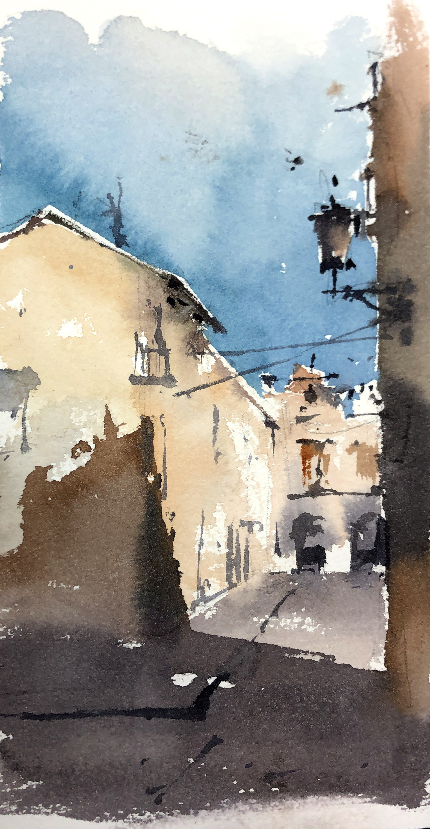 #75 Sketching Italy