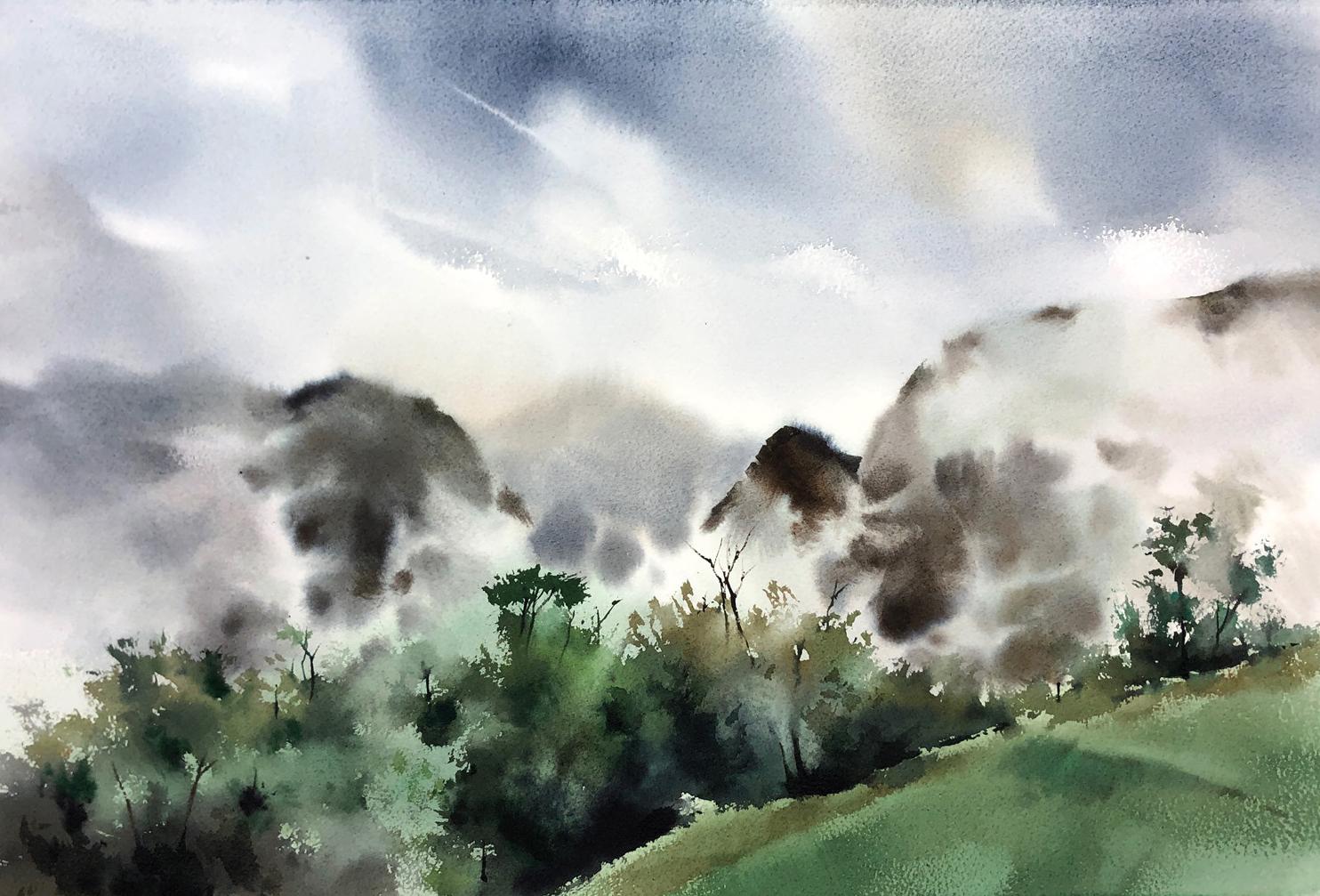 Mist in Peru