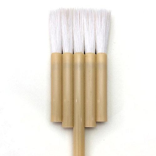 Flat 5 lines brush