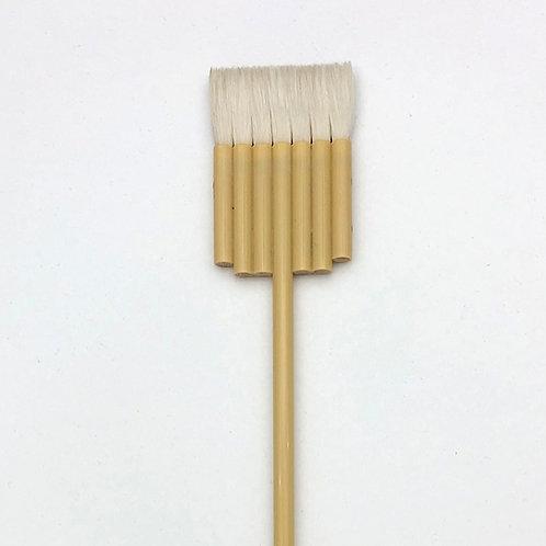 Flat 7 lines brush