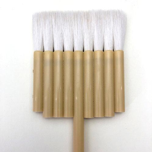 Flat 9 lines brush