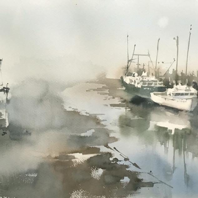 Pier in Nova Scotia, Canada