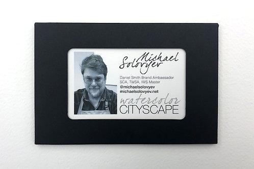 Cityscape postcards set