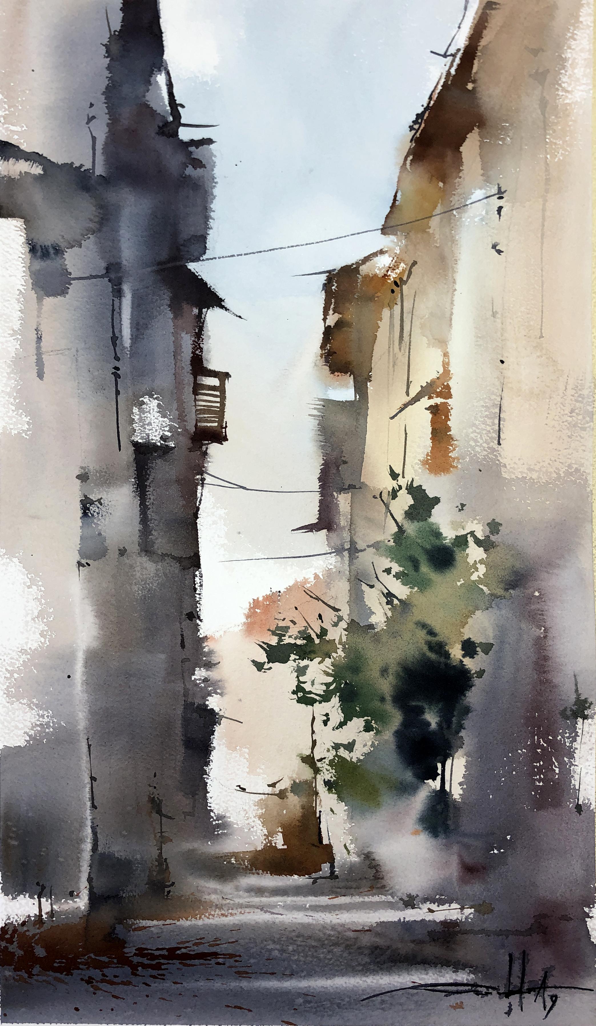 #50 Italy, Narrow Street