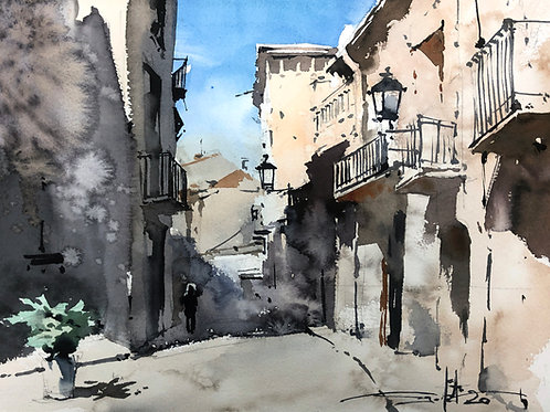 Urban Sketching Course1: Part One: The Light and Its Main Rules
