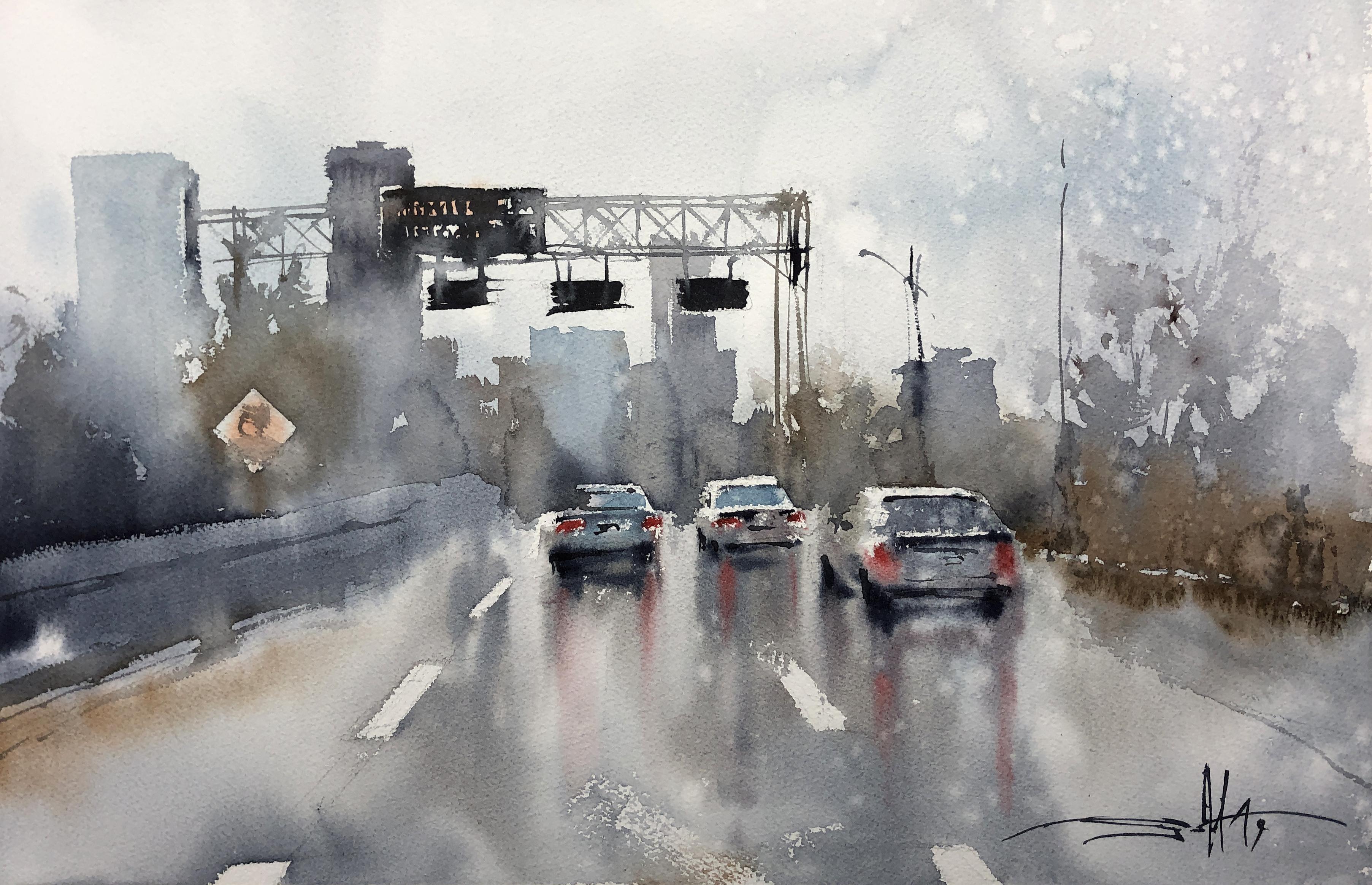 #30 Rainy Highway