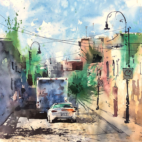 Urban Sketching Course2: Part One: Spontaneous Painting