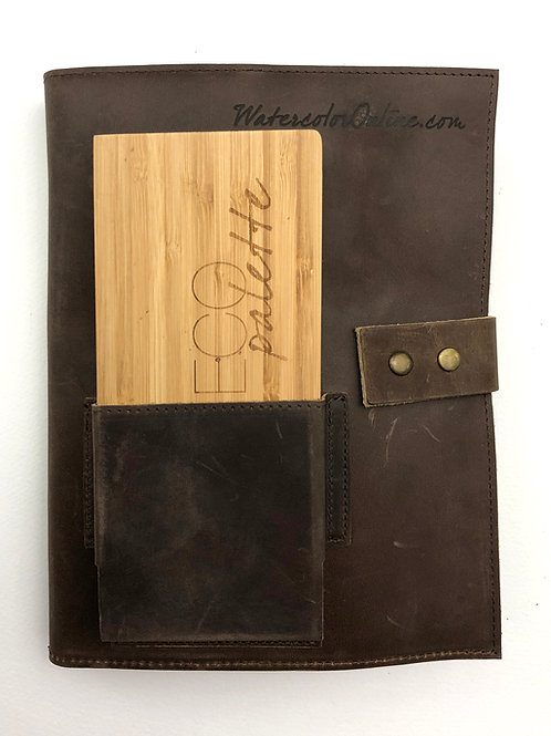 Genuine Leather Sketching Case