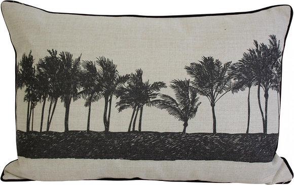 Palm Row Cushion