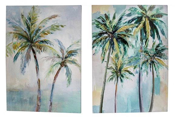 PalmTrees Canvas Set
