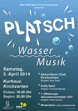 Platsch - Wassermusik
