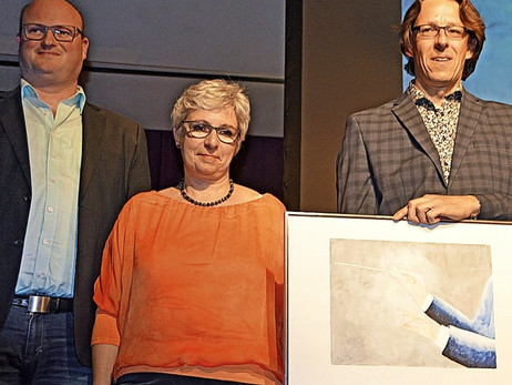 Musikalische und gemalte Farbkleckse - Von Gerhard Lück, Badische Zeitung vom 3. April 2019