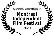 Winner Best Cinematography - Montreal In