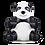 Thumbnail: Zuny Classic - Panda (Sitting)