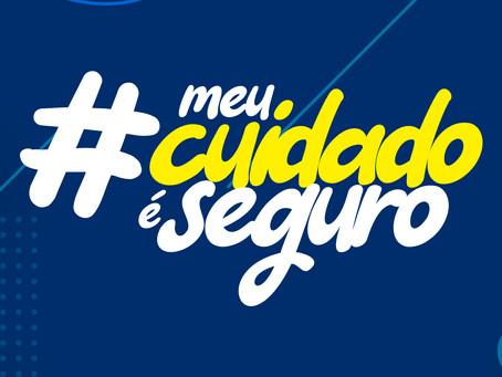 #MeuCuidadoéseguro