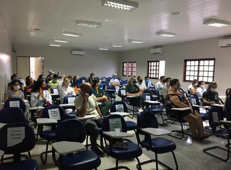 Enfermeiros e técnicos de enfermagem participaram de mais um treinamento sobre hemocomponentes