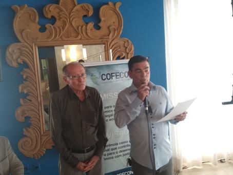 Diretor téc. médico - Dr. Miguel Arcanjo Barbosa, recebe comenda da associação alagoana de imprensa.