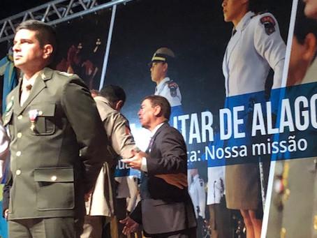 Direção do Hospital Vida recebe medalha Zumbi dos Palmares do governador do estado de Alagoas.