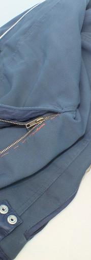 changer la fermeture éclair d'un uniforme