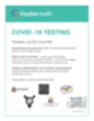 Equitas Health - Free COVID-19 Testing