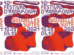 """42e FESTIVAL D'AMBRONAY """"Nouvelles Suites""""                             10 septembre - 3 octobre 2021"""