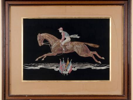 Le cheval, emblème des Soieries Bonnet depuis 1871