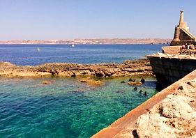 CIRKEWWA ARCH SITE PLONGÉE DIVE SITE - French Touch Diving Centre Plongée à Malte Gozo - Scuba Diving Dive Center Malta Gozo