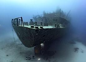 UM EL FAROUD WRECK EPAVE SITE PLONGÉE DIVE SITE - French Touch Diving Centre Plongée à Malte Gozo - Scuba Diving Dive Center Malta Gozo