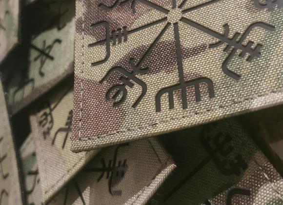 "Vegvisir (Viking Rune) 3""x3"" IR Patch"