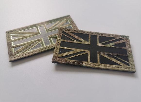 Union Jack Laser Cut Patch