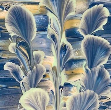 Baby Bleu Lilies