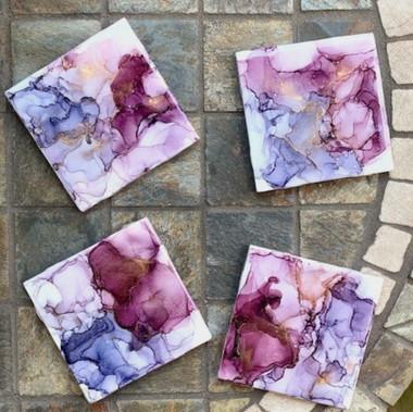 Purple Coasters