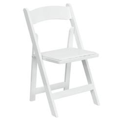 White Folding Garden Chair