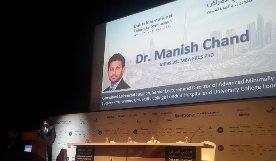 Manish Chand, Harley street surgeon