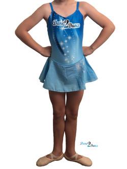 Belle Leotard Lt Blue (Prep/Kindy)