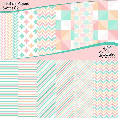 Kit de Papéis Sweet 02