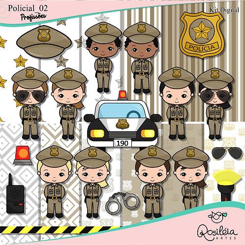 Kit Digital Profissões Policial _ 02
