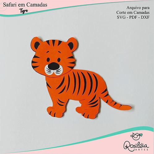 Arquivo Safari Camadas Tigre
