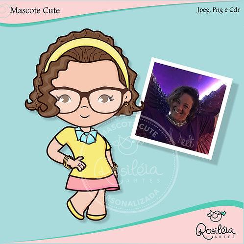 Mascote Cute Personalizada