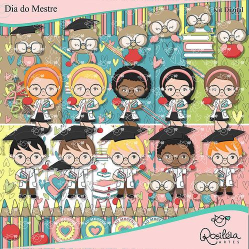 Kit Digital Dia dos Professores Dia do Mestre