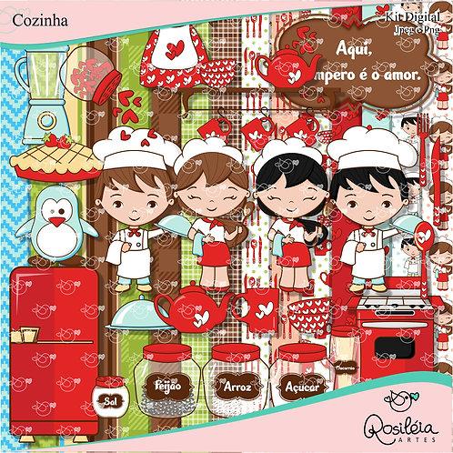 Kit Digital Cozinha Tempero do Amor