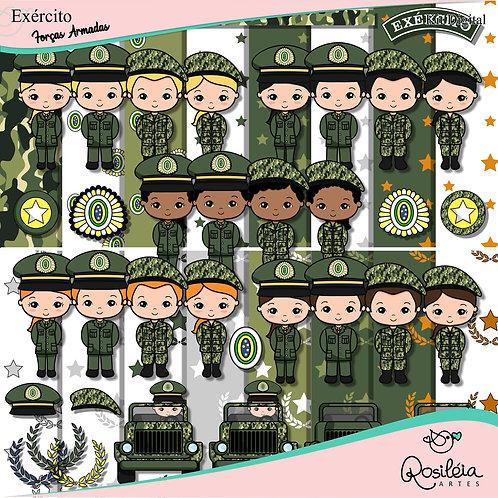 Kit Digital Forças Armadas Exército