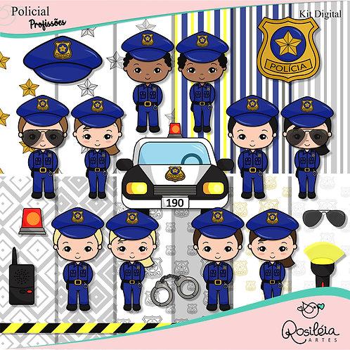 Kit Digital Profissões Policial