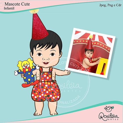 Mascote Cute Infantil Personalizada