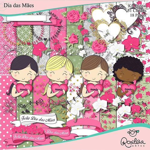 Kit Digital Dia das Mães